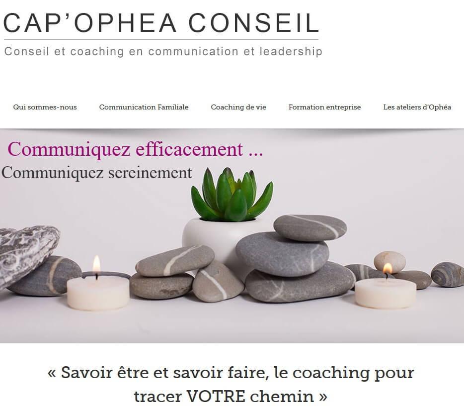 Création site internet LYON cap ophea conseil I coaching de vie coach LYON
