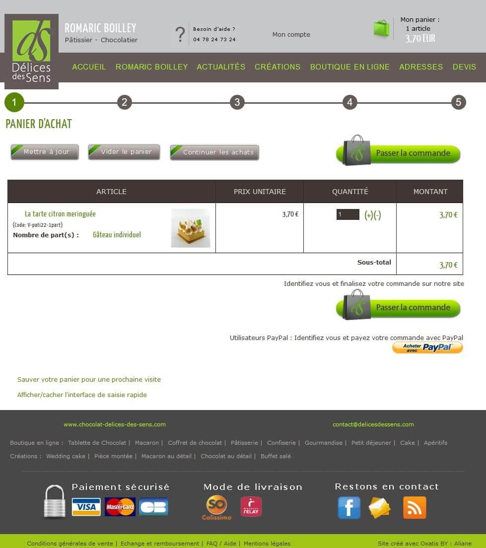 Création site vente en ligne Lyon 6