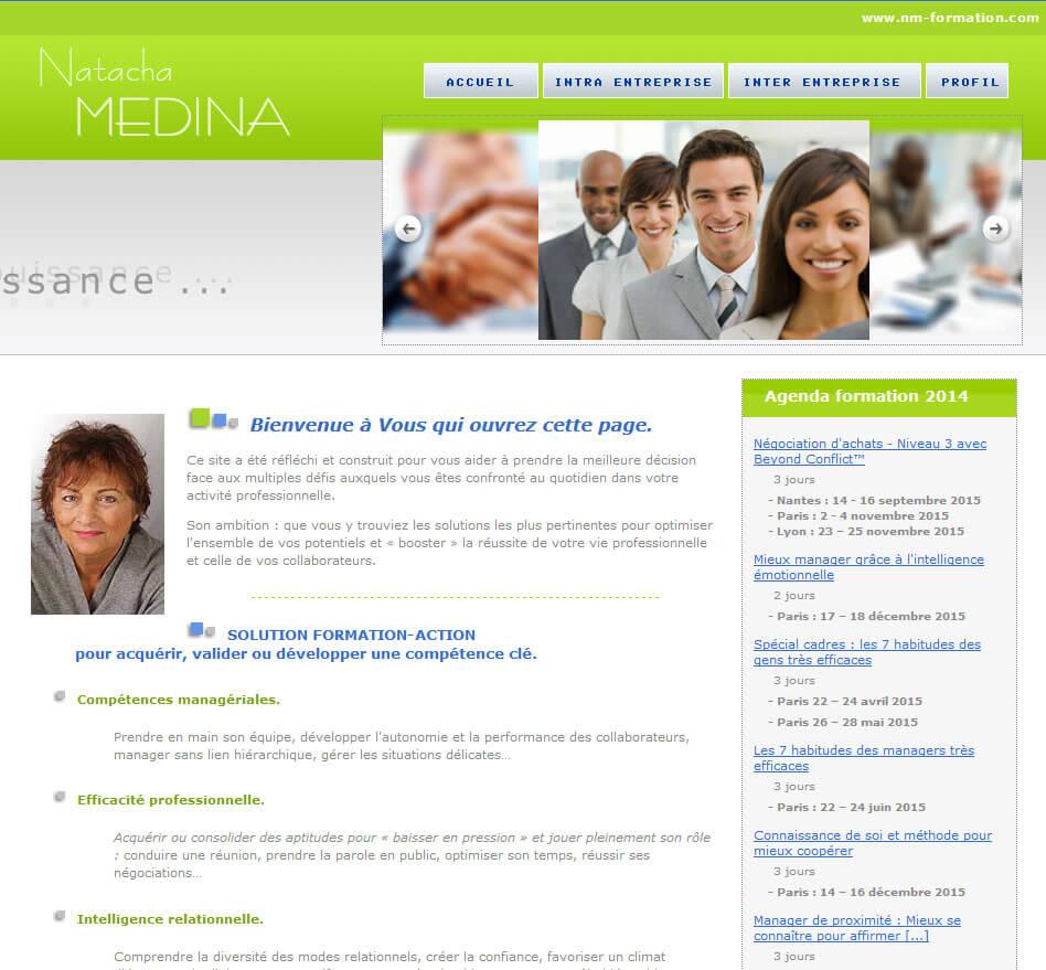 Création site internet vitrine Lyon Coaching