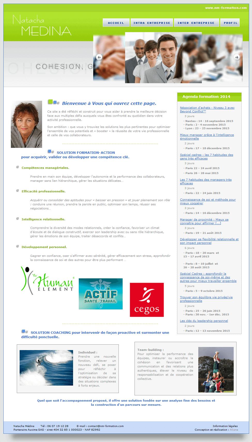 Création site internet Coach Lyon