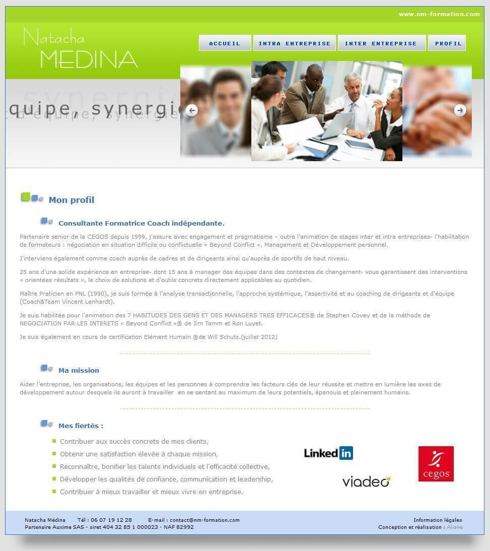 Création site internet Coach Lyon 3