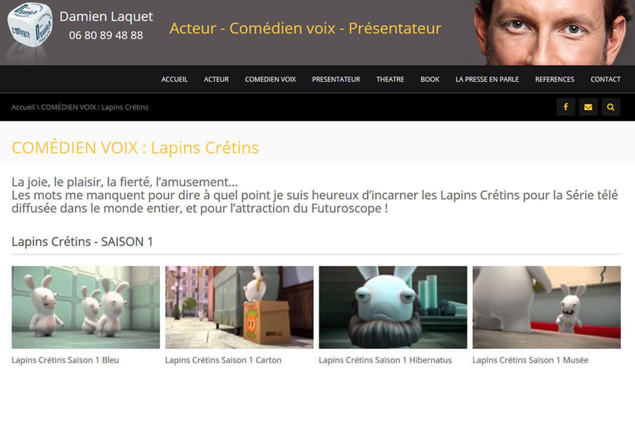 Création site internet vitrine LYON 7
