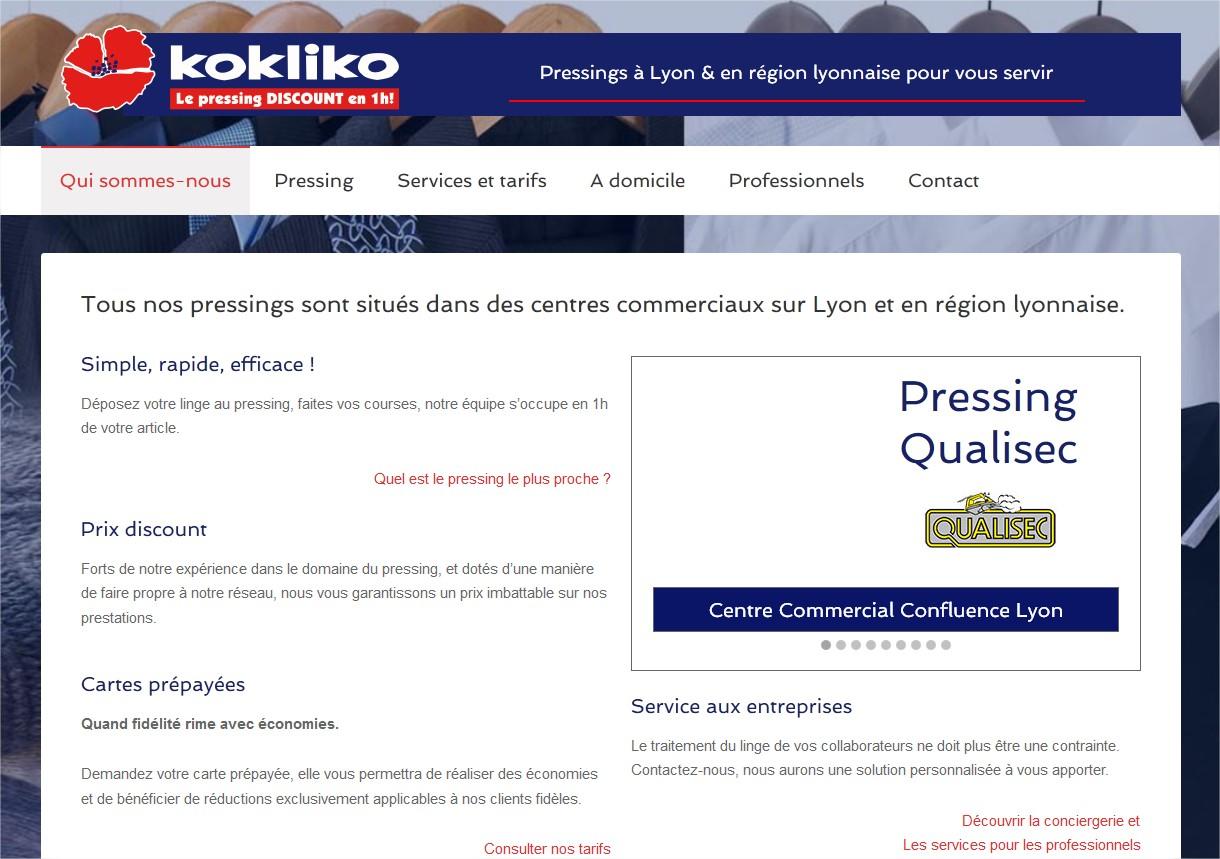 Pressing centre commercial sur Lyon et en région lyonnaise