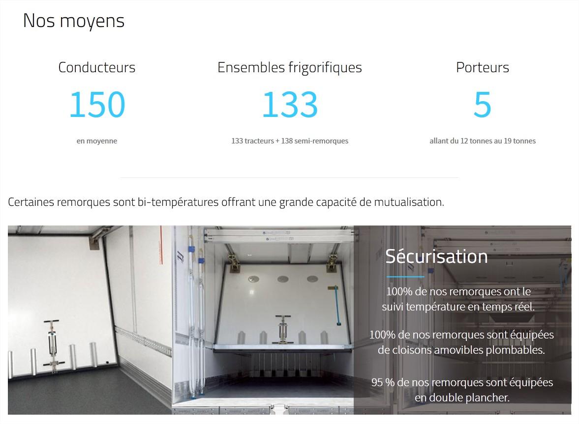 Lyon Creation site internet TFMO Transports Frigorifiques des Monts Or 3
